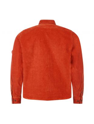 Corduroy Shirt - Rust