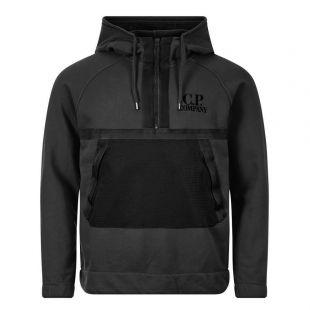 Hoodie Quarter Zip - Black