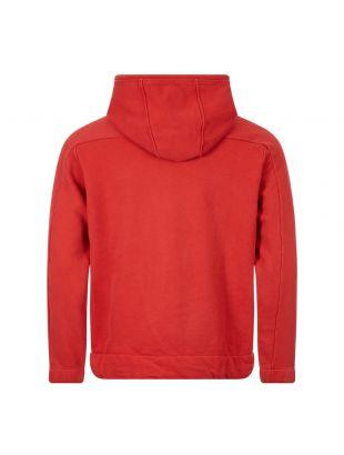 Hoodie Quarter Zip - Red