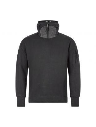 CP Company Hooded Sweatshirt   MSS033A 005086W 999 Black   Aphrodite