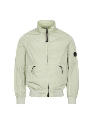 cp company harrington jacket recycled chrome tea