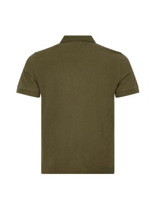 Tipped Polo - Olive