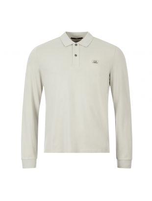 cp company polo shirt long sleeve MPL018A 005263W 900 grey