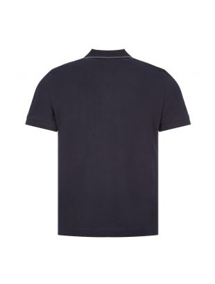 Tipped Polo - Navy