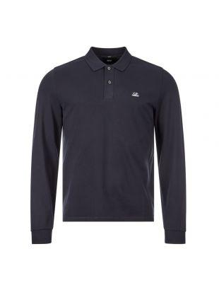 Long Sleeve Polo Shirt - Navy