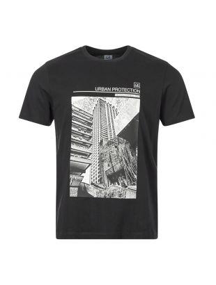 cp company t-shirt urban protection MTS166A 005100W 999 black