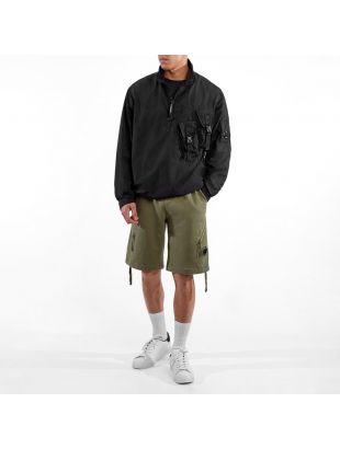 Half Zip Overshirt - Black