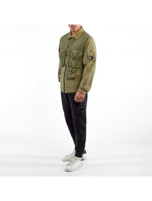Overshirt Taylon L - Martini Green