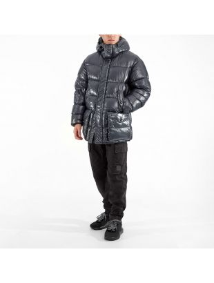 Goggle Jacket - Ombre Blue