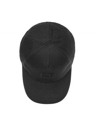 Cap Logo - Black