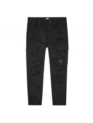 CP Company Cargo Pants   MPA135A 005529G 999 Black   Aphrodite Clothing