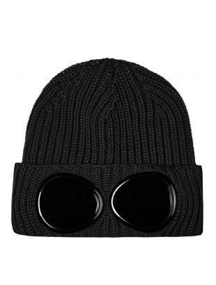 Goggle Beanie - Black