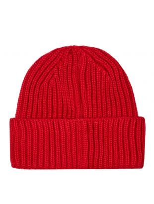 Goggle Beanie - Red