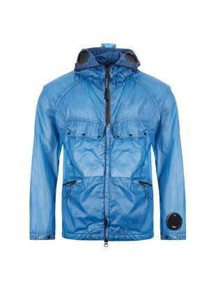 CP Company Hooded Jacket | MOW122A 005576S 818 Blue