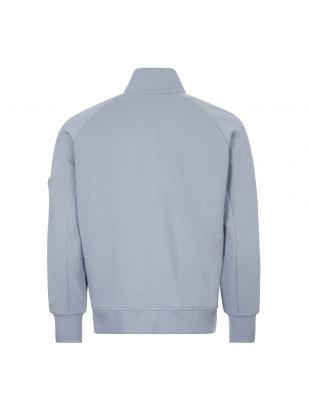 Sweatshirt Half-Zip - Blue Fog