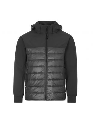 CP Company Padded Jacket | MOW 0484 005784M 999 Black | Aphrodite