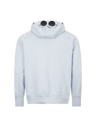 Goggle Hoodie Zip - Light Blue