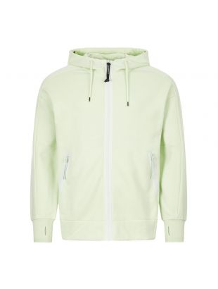 cp company goggle hoodie zip MSS012A 005160W 604 green