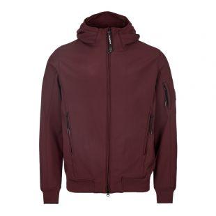 CP Company Jacket Soft Shell MOW013A 0052423A 593 Wine