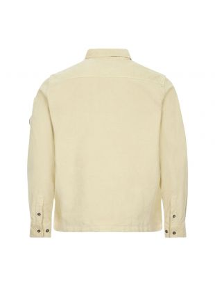 Corduroy Shirt Half Zip - Oyster