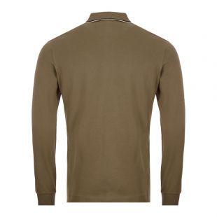 Long Sleeve Polo Shirt - Dusty Olive
