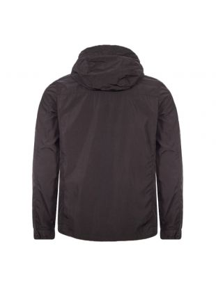 Hooded Overshirt - Black