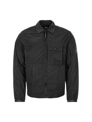 Zipped Overshirt - Black