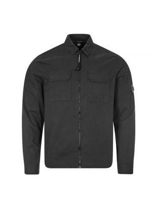 cp company overshirt MSH183A 002824G 999 black
