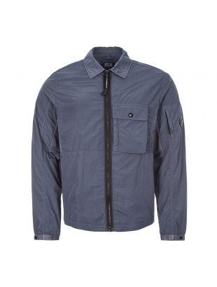 CP Company Zipped Overshirt | Ombre Blue MOS073A 005148G 884 | Aphrodite