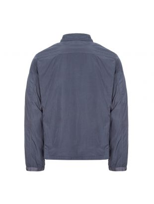 Zipped Overshirt - Ombre Blue