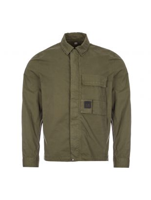 cp company overshirt urban protection MSH129A 002824G 683 ivy green