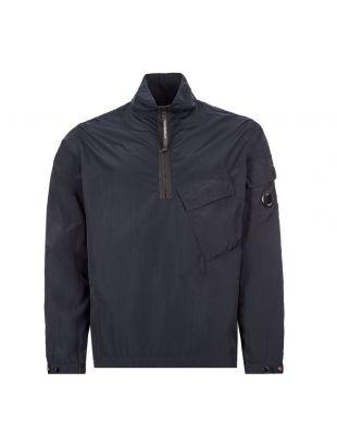 cp company overshirt half-zip MOS046A 005148G 888 navy