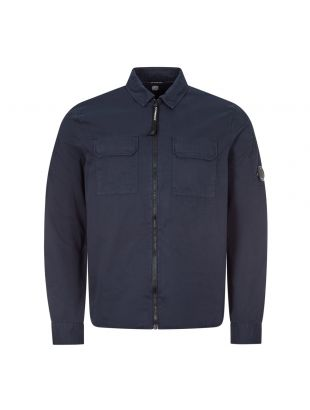cp company overshirt MSH183A 002824G 888 total eclipse