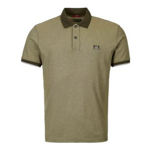 CP Company Polo Shirt MPL110A 00 0973G 670 Green