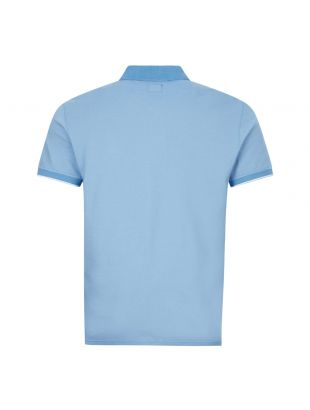 Polo Shirt - Two Tone Blue