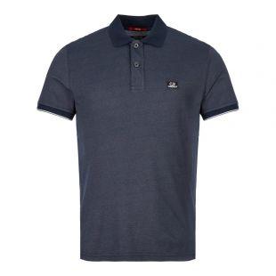 CP Company Polo Shirt MPL110A 00 0973G 888 Navy