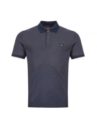 CP Company Polo Shirt Logo | MPL052A 000973G 888 Navy