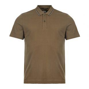 CP Company Polo Shirt MPL103A 005263W 661 Olive