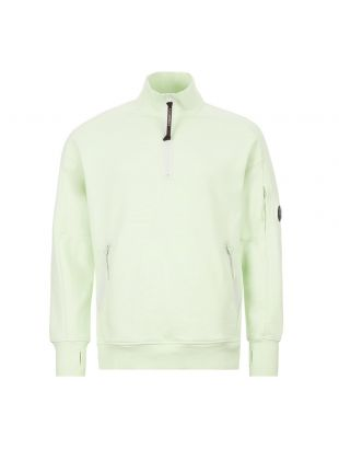 CP Company Sweatshirt Zip | MSS010A 055160W 604 Green
