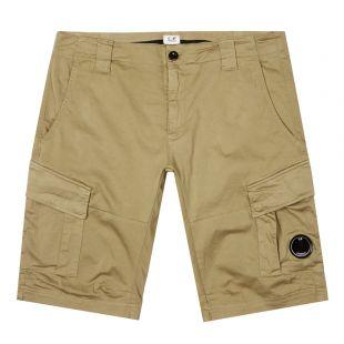 CP Company Shorts Lens | MBE117A 005694G 656 Khaki