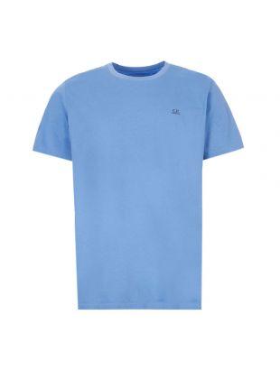 cp company t--shirt MTS291A 005100W 818 blue