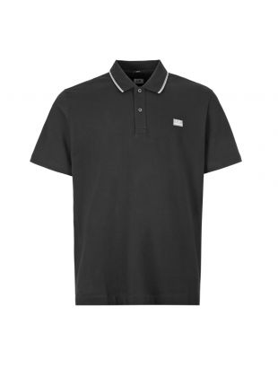 CP Company Polo Shirt | MPL035A 005263W 999 Black
