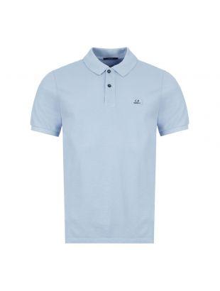 CP Company Polo Shirt   MPL081A 005527G 817 Blue
