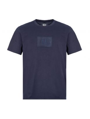 cp company t-shirt MTS141A 005 100W 888 navy