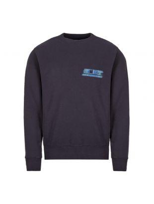 cp company sweatshirt MSS323A 005747W 888 navy