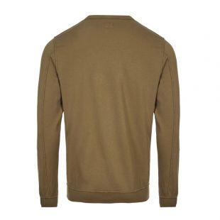 Sweatshirt Embroidered Logo - Olive