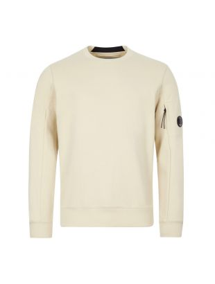 CP Company Sweatshirt | MSS039A 005086W 303 Oyster