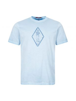 CP Company T-Shirt | MTS305A 000444S 818 Blue Diamond