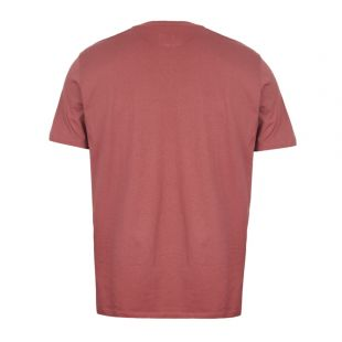 T-Shirt Printed Label - Dusty Pink