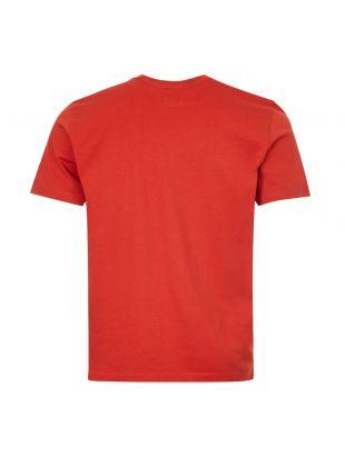 T-Shirt Large Logo Print - Rust